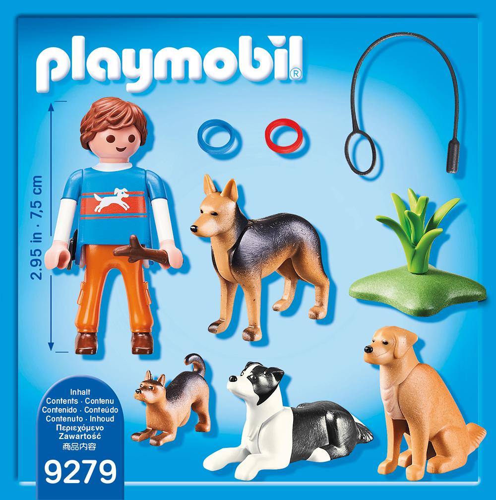 Dresor de caini playmobil city life - 1