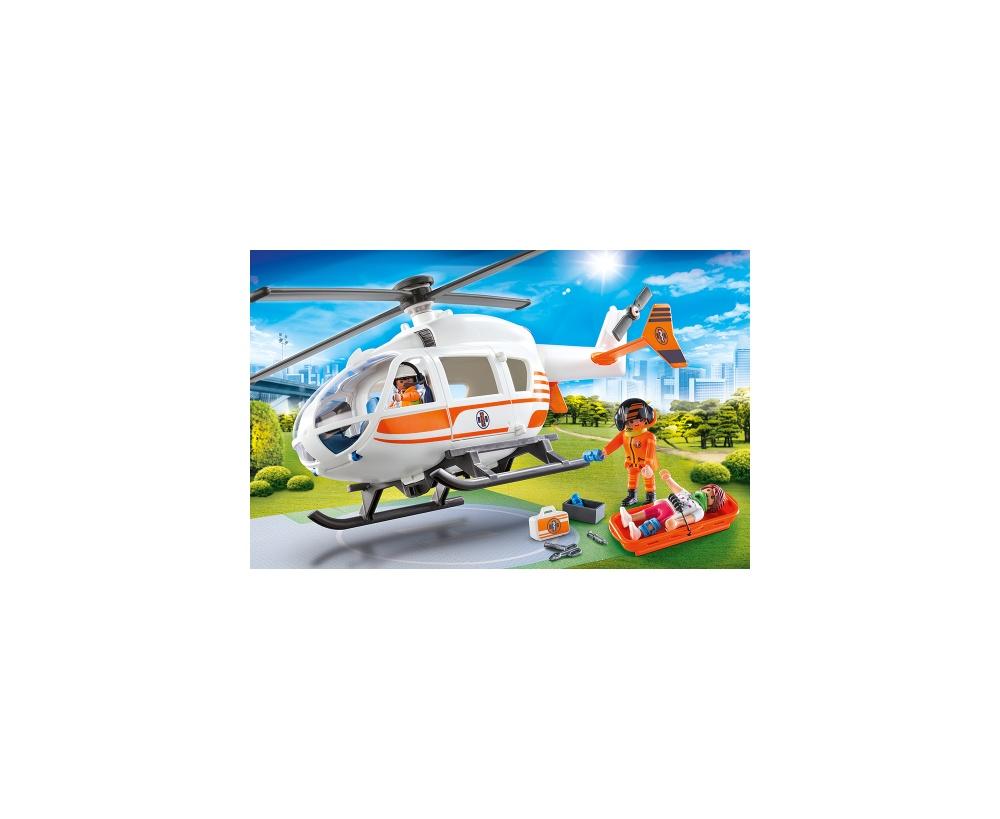 Elicopter de salvare playmobil city life - 2