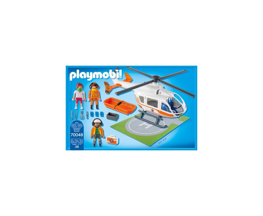 Elicopter de salvare playmobil city life - 1