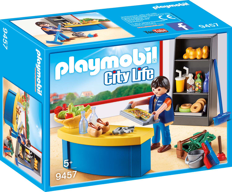 Ingrijitor si chiosc playmobil city life