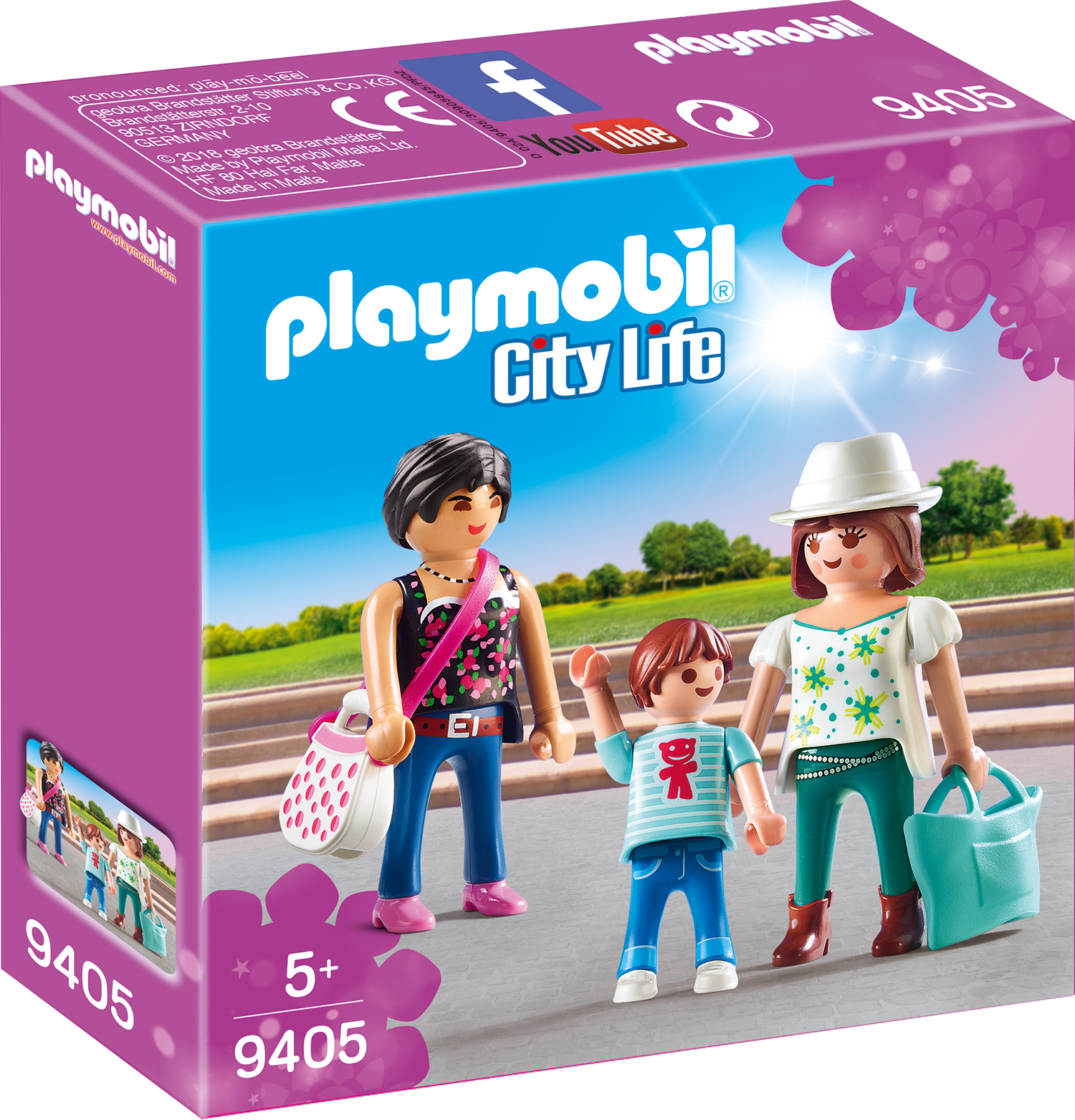 Familia la cumparaturi playmobil city life