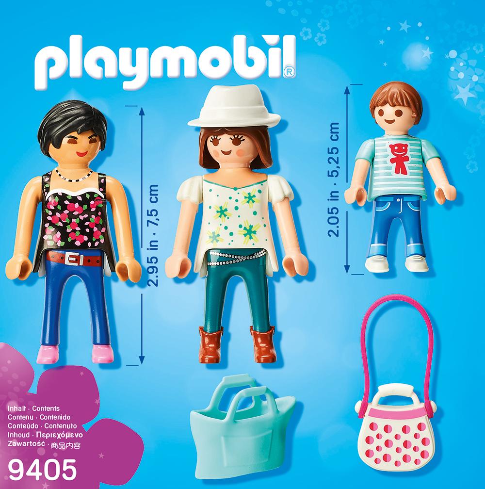 Familia la cumparaturi playmobil city life - 1