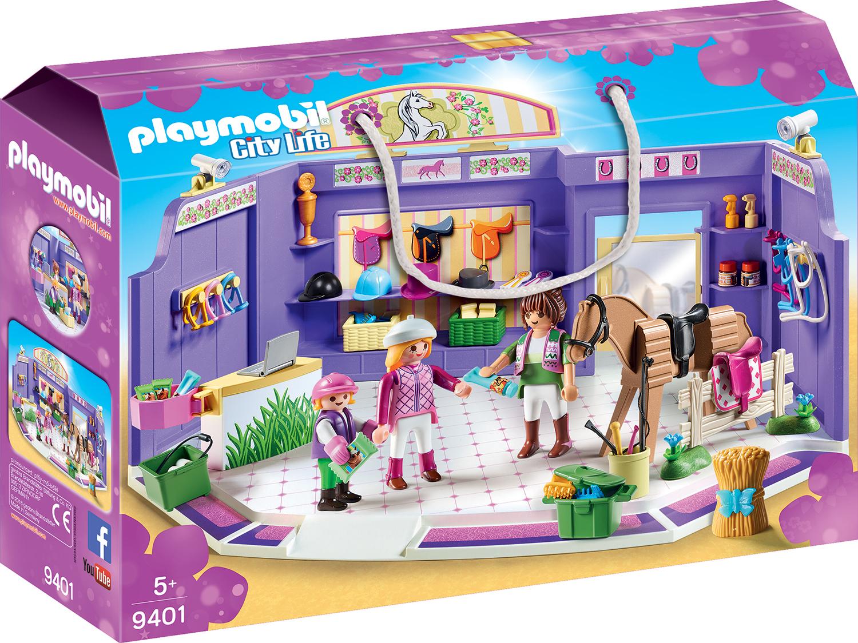 Magazin de accesorii pentru caluti playmobil city life