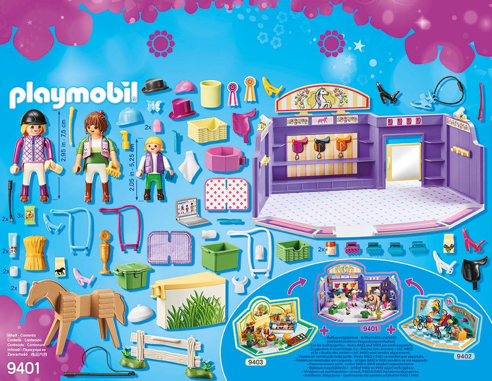 Magazin de accesorii pentru caluti playmobil city life - 1