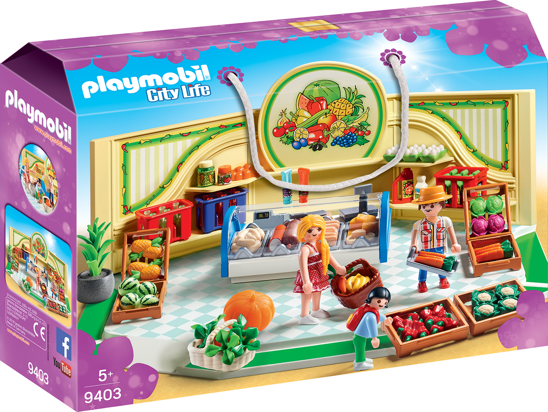 Magazin produse alimentare playmobil city life