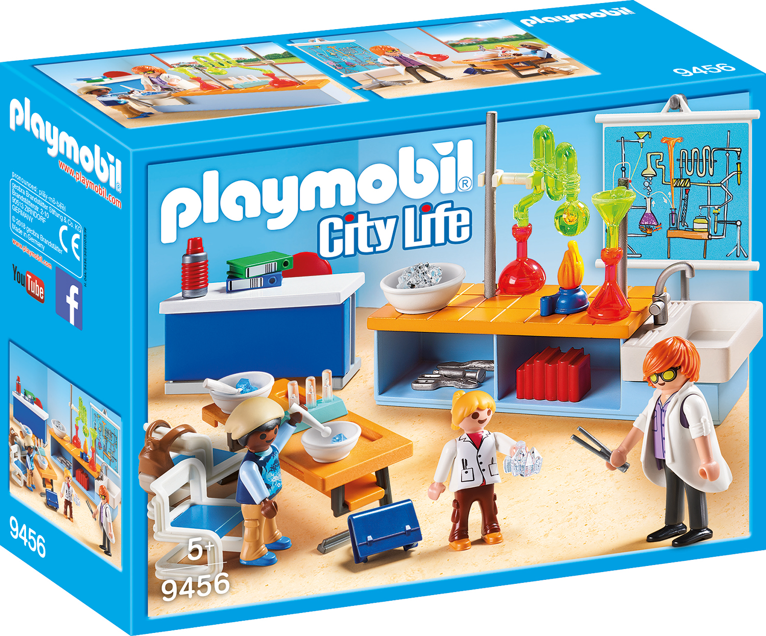 Sala de chimie playmobil city life