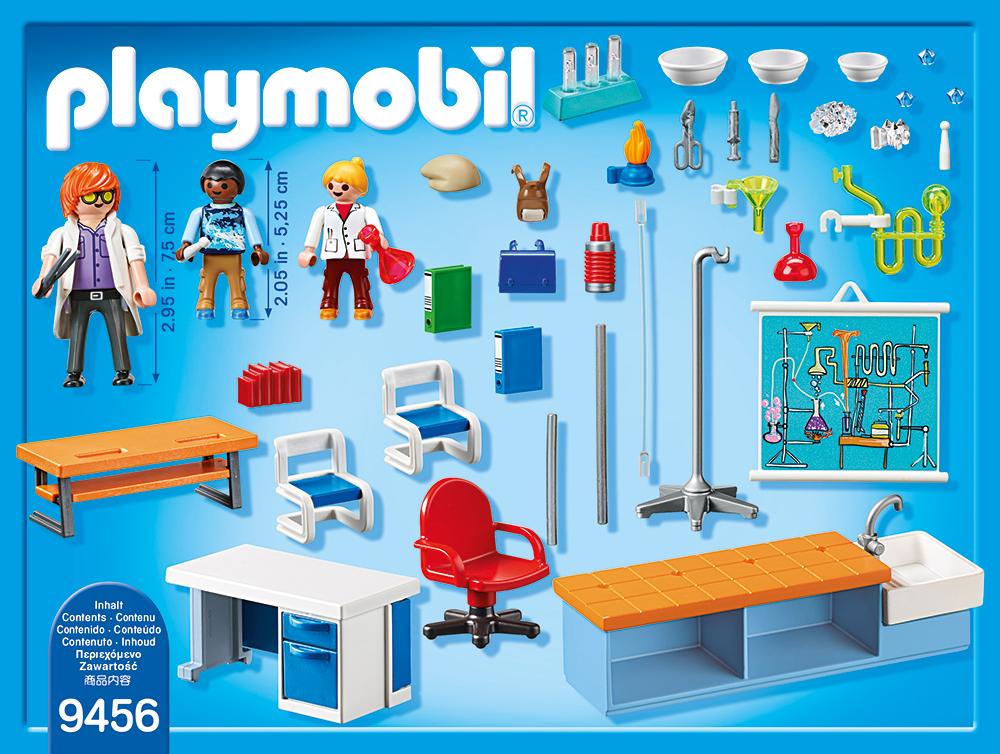 Sala de chimie playmobil city life - 1