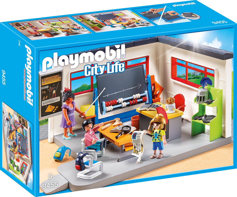 Sala de istorie playmobil city life