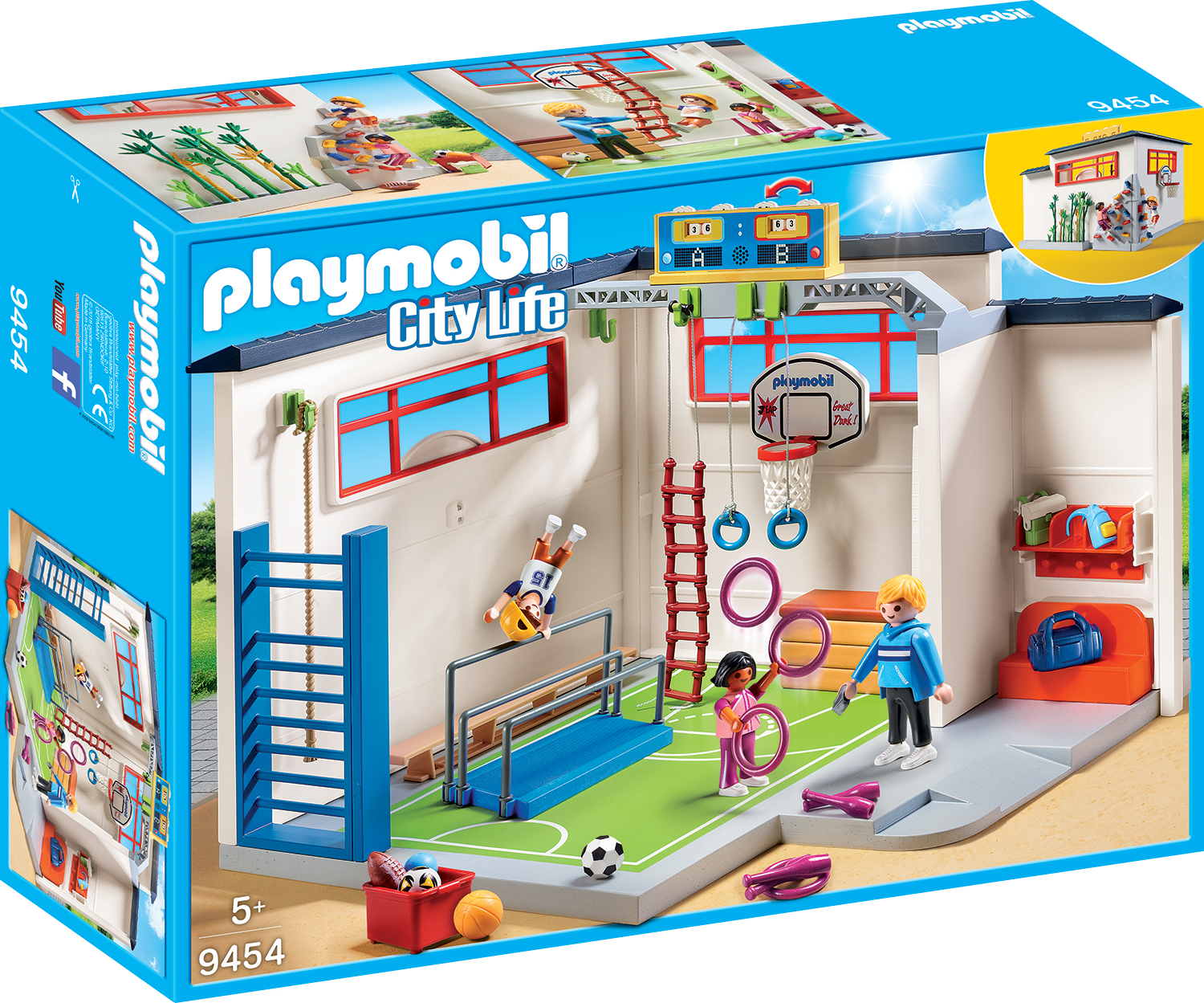 Sala de sport playmobil city life
