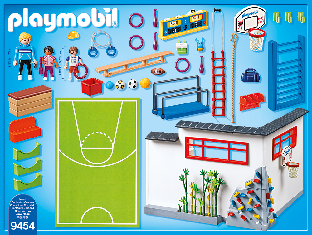 Sala de sport playmobil city life - 1