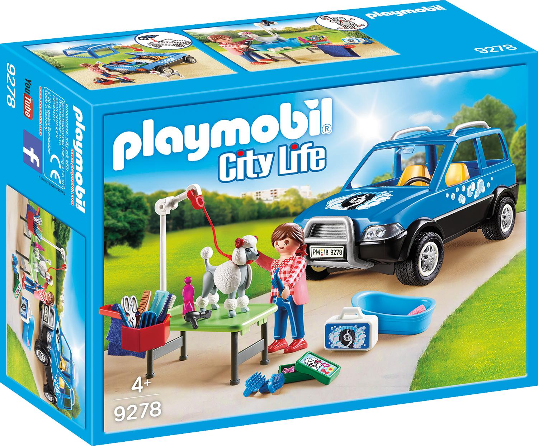 Salon mobil ingrijire catei playmobil city life
