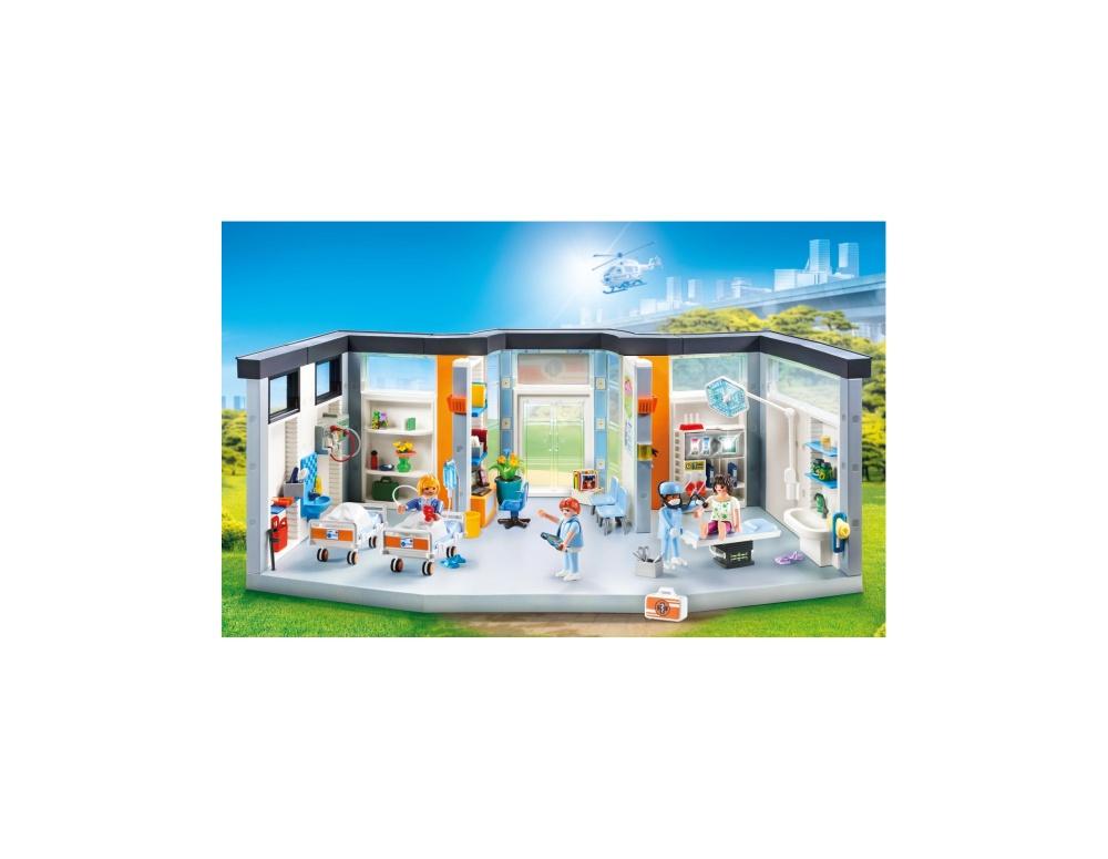 Salon spital mobilat playmobil city life - 2