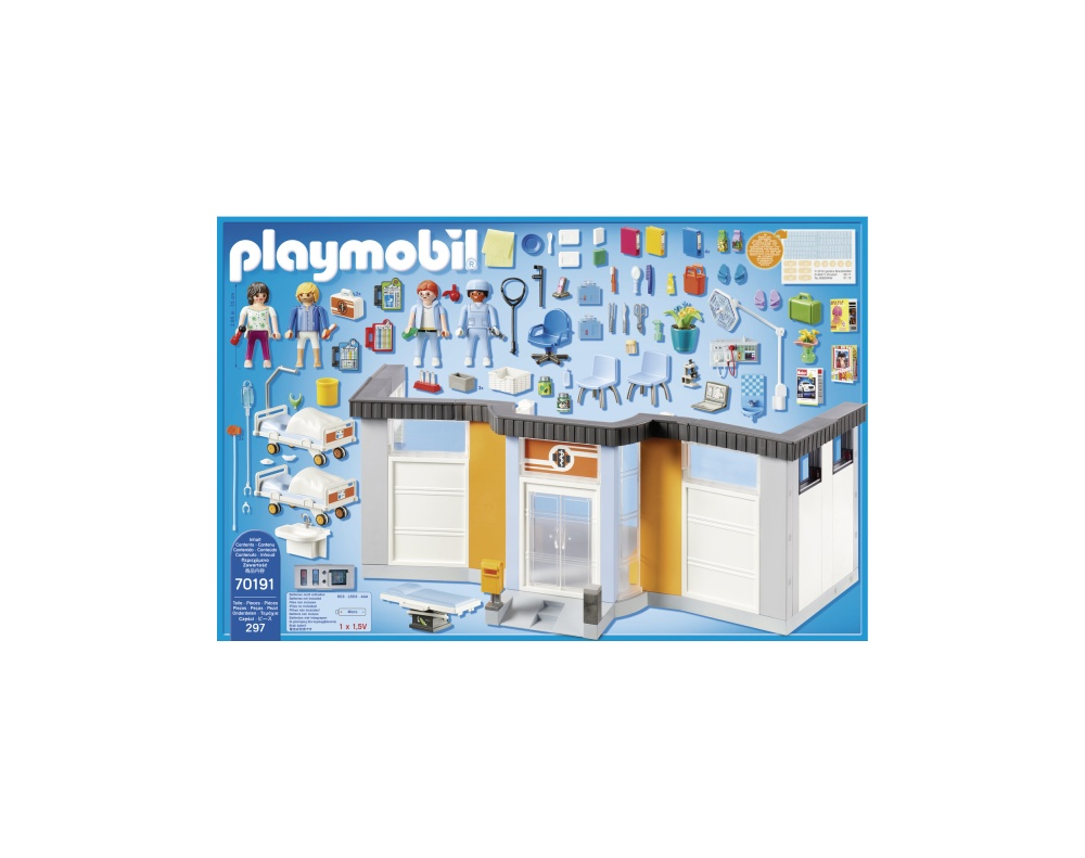 Salon spital mobilat playmobil city life - 1