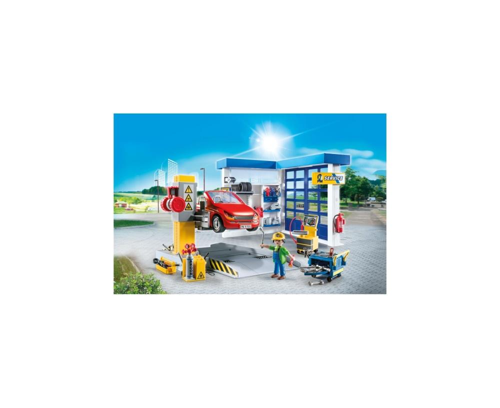 Service auto playmobil city life - 2