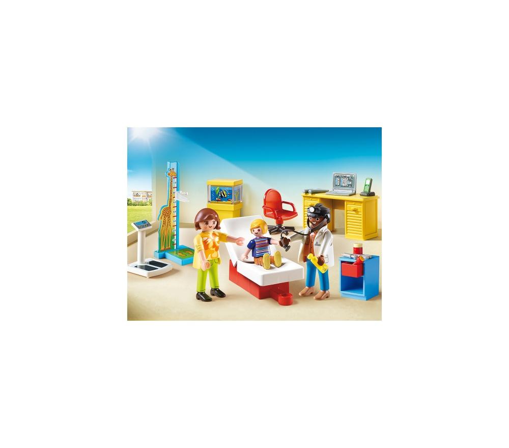 Cabinetul pediatrului playmobil city life - 2