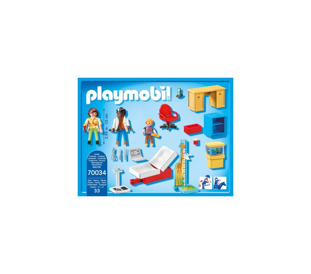 Cabinetul pediatrului playmobil city life - 1