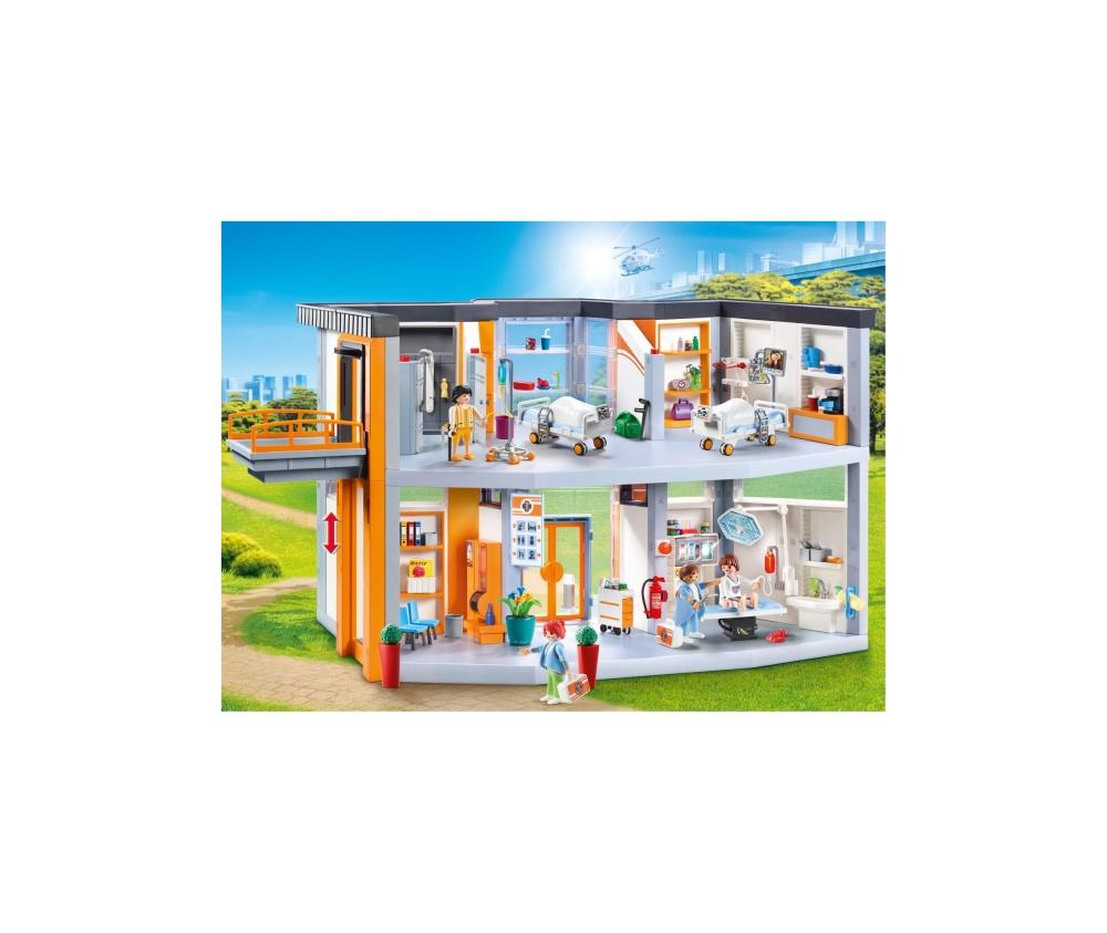 Spital mare echipat playmobil city life - 2