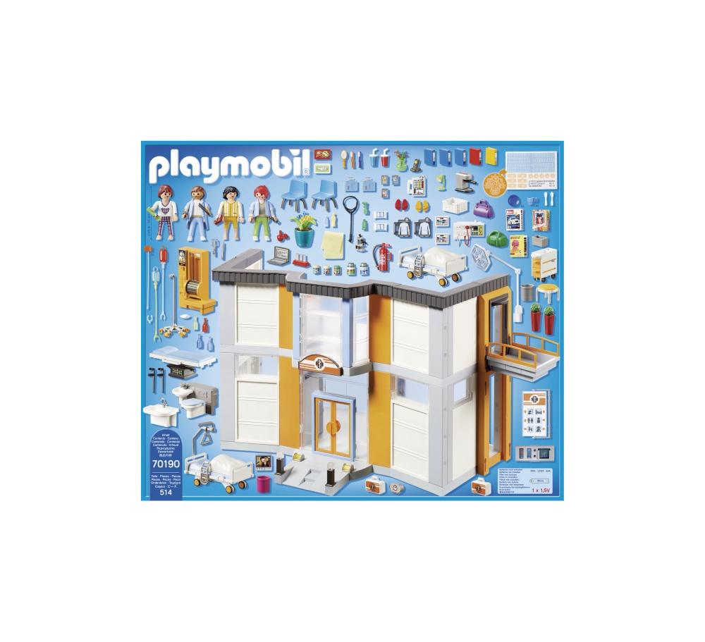 Spital mare echipat playmobil city life - 1