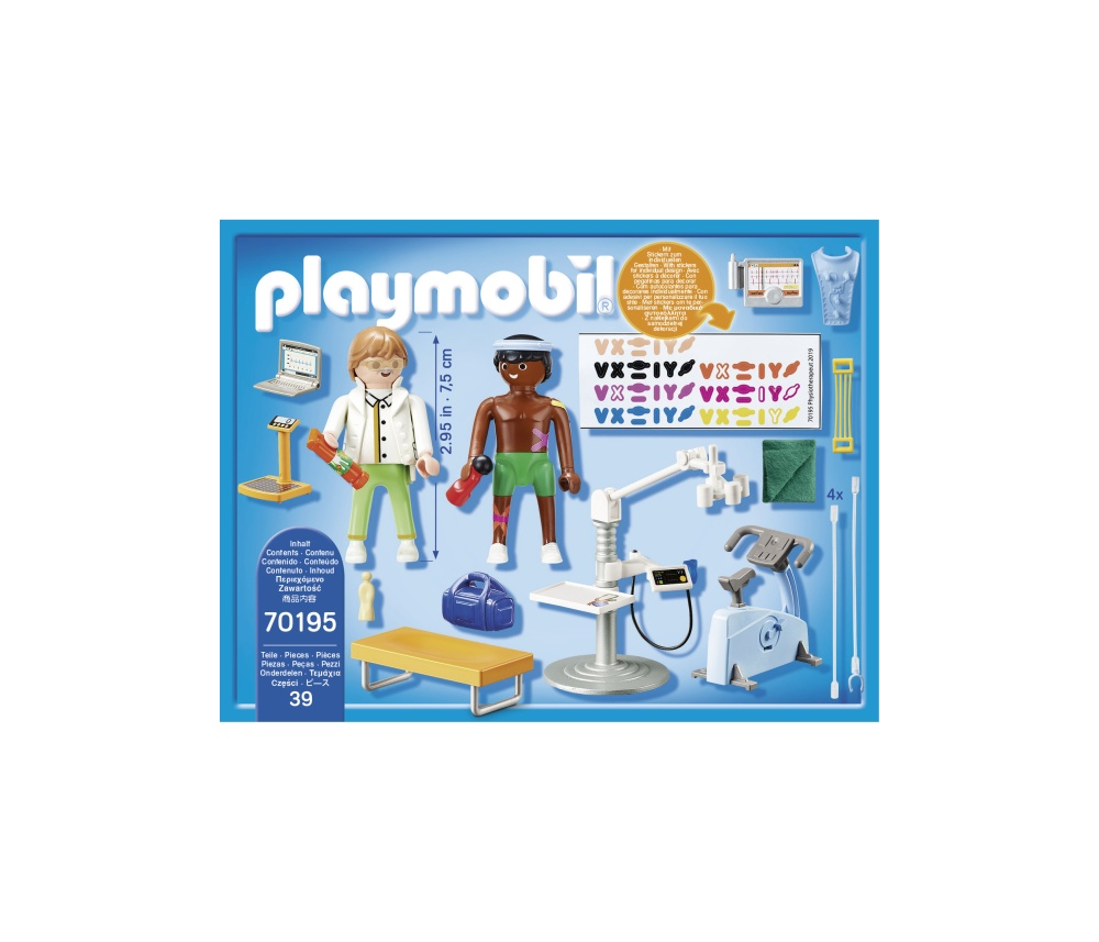 Terapeut fizic playmobil city life - 2