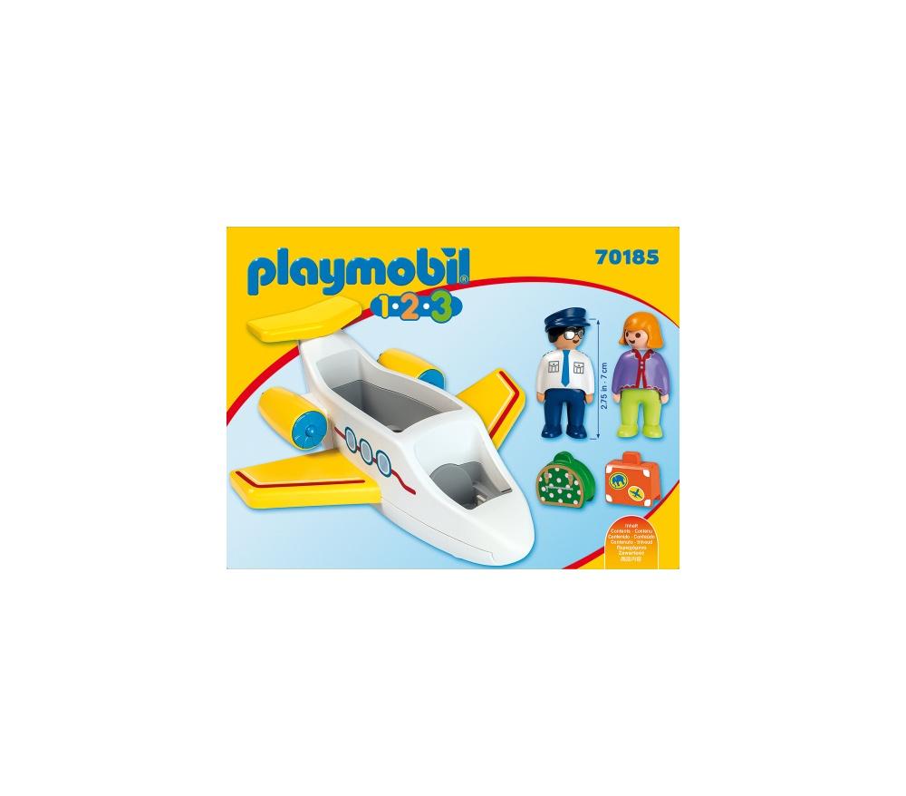 Avion cu pasager playmobil 1.2.3 - 1