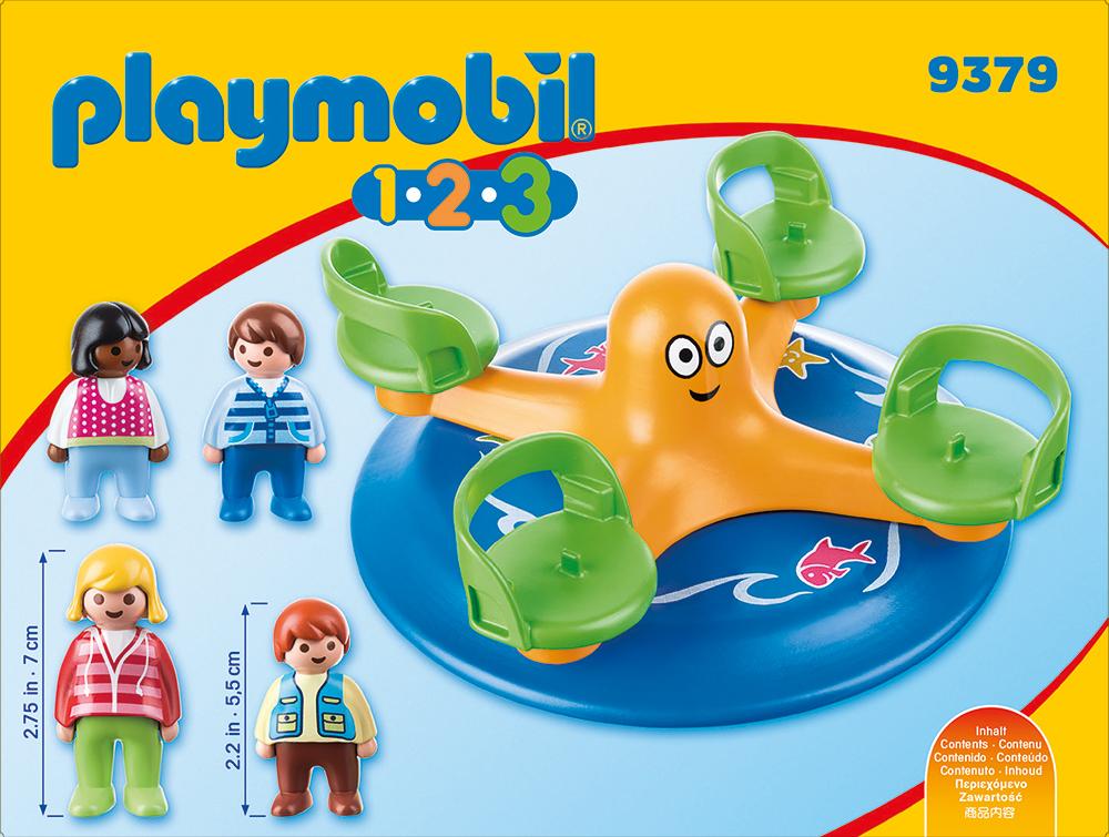 Carusel copii playmobil 1.2.3 - 1
