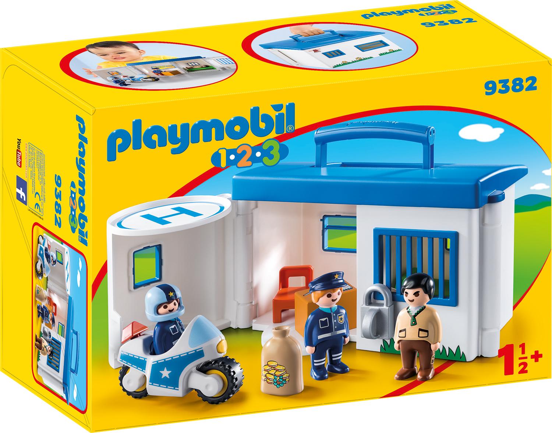 Statie de politie mobila playmobil 1.2.3