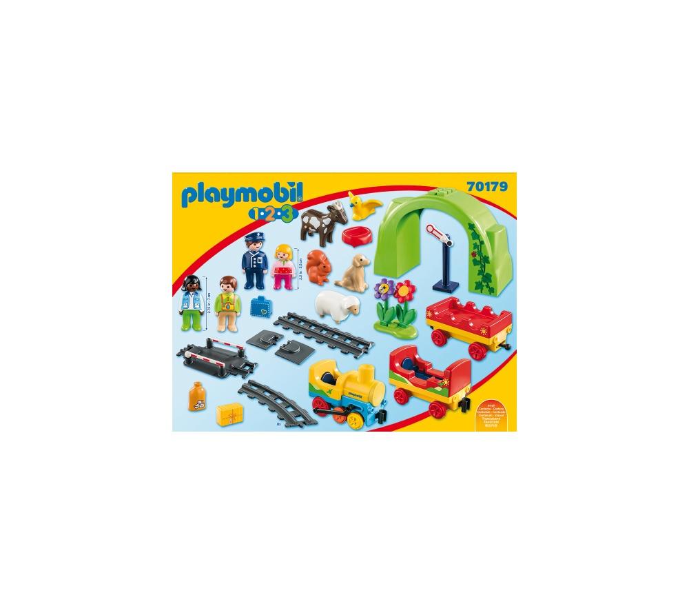 Statie de tren playmobil 1.2.3 - 1