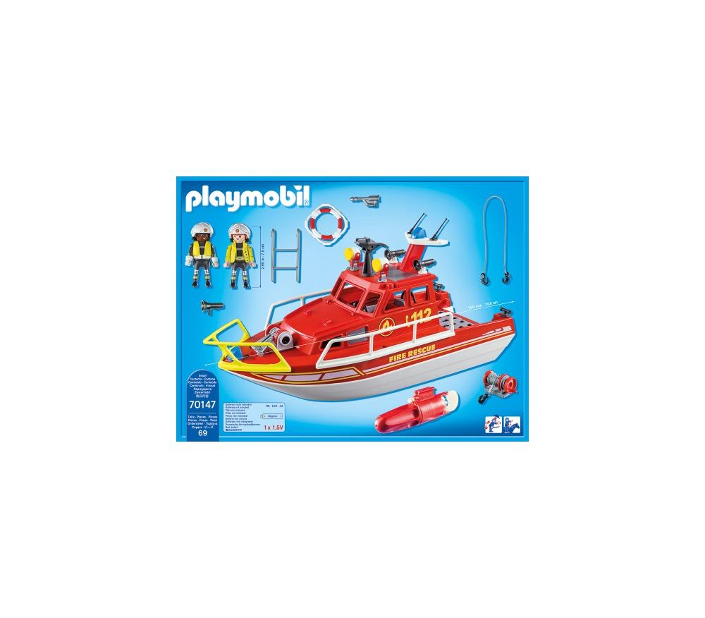 Barca de salvare playmobil city action - 1