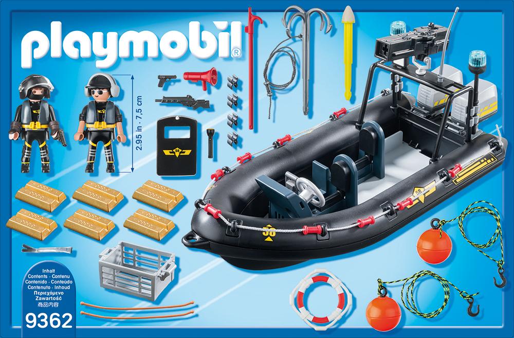 Barca echipei swat playmobil city action - 1