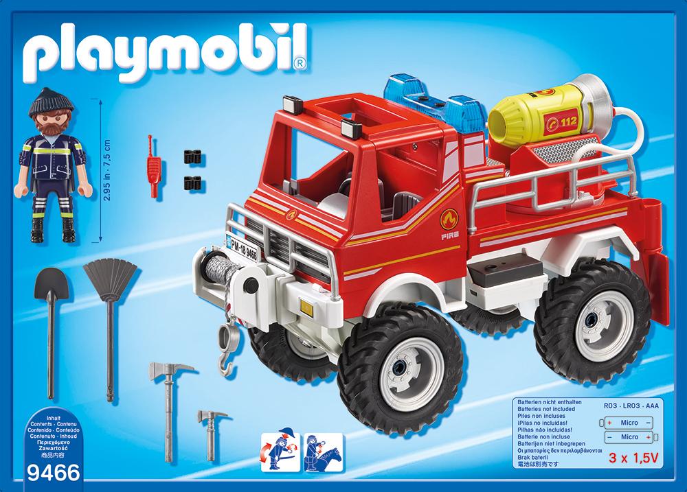 Camion de pompieri playmobil city action - 1