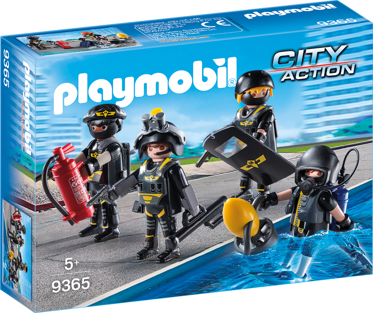 Echipa swat playmobil city action