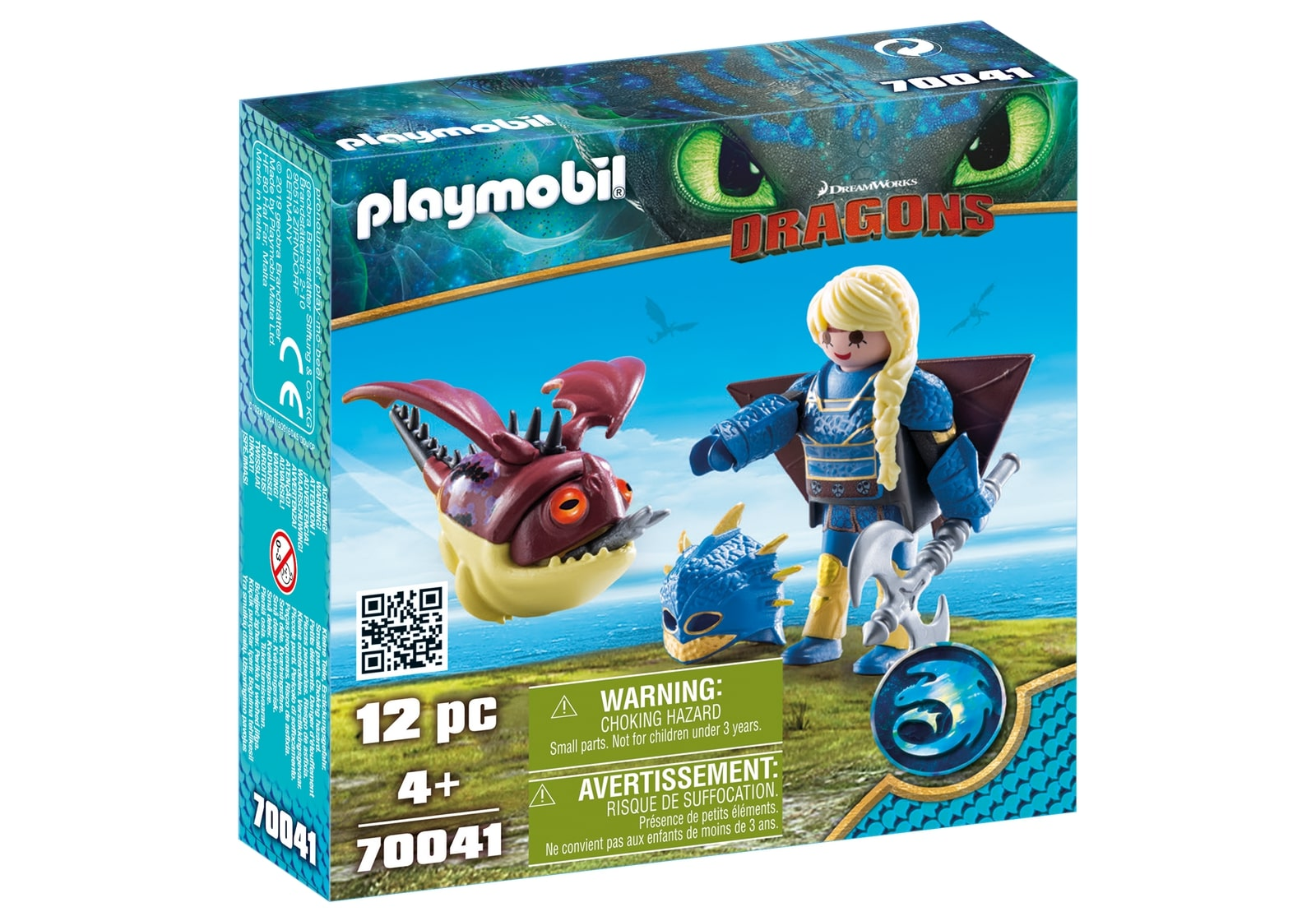 Astrid si hobgobbler playmobil dragons