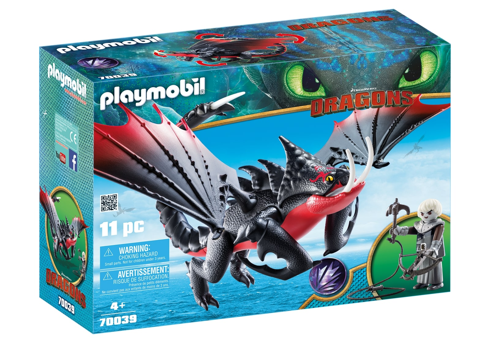 Deathgripper si grimmel playmobil dragons