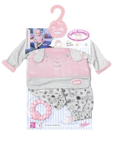 Pijama joaca bebelusi 43 cm baby annabell zapf imagine
