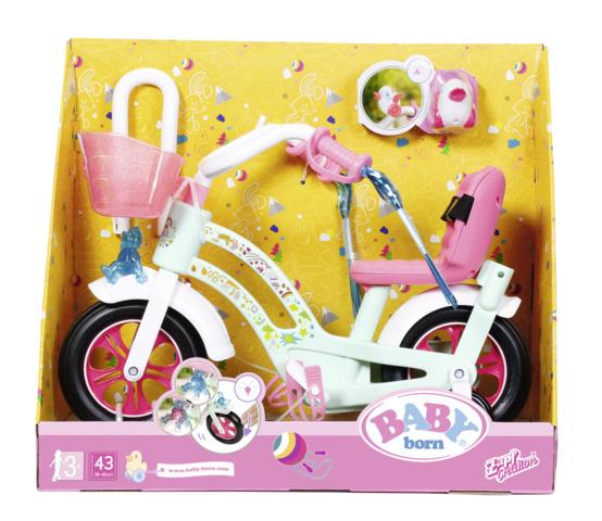 Bicicleta bebelus baby born zapf imagine
