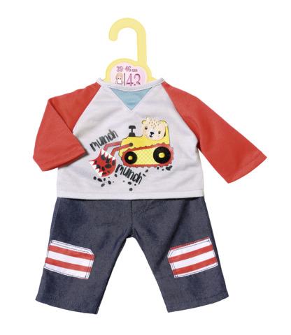 Set bluza si pantaloni 43 cm dolly moda zapf imagine