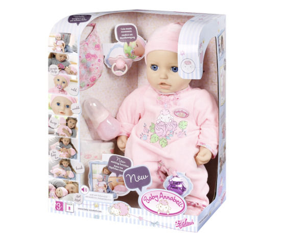 Papusa interactiva baby annabell imagine