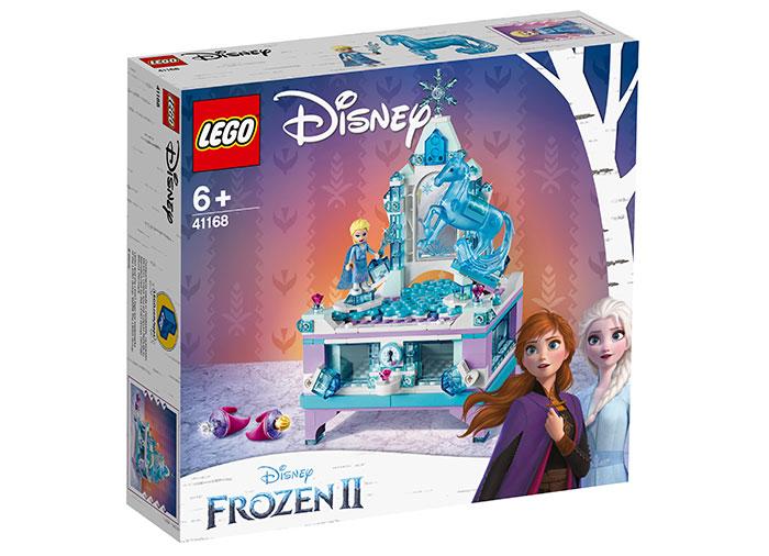 Cutia de bijuterii a elsei lego disney princess