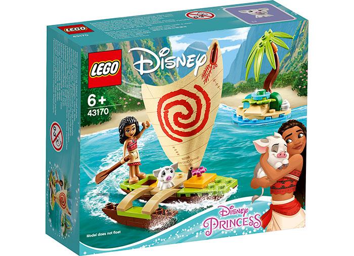 Aventura pe ocean a moanei lego disney princess