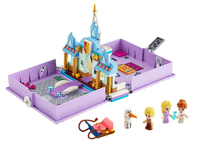 Aventuri cartea de povesti anna si elsa lego disney princess - 2