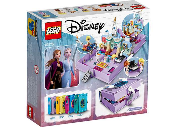 Aventuri cartea de povesti anna si elsa lego disney princess - 1