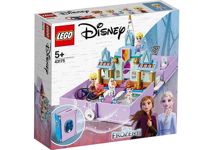 Aventuri cartea de povesti anna si elsa lego disney princess