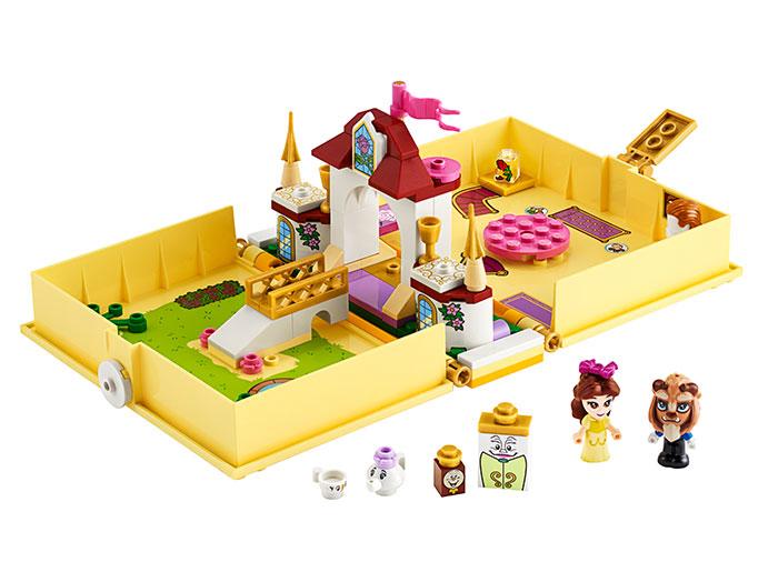 Aventuri cartea de povesti belle lego disney princess - 1