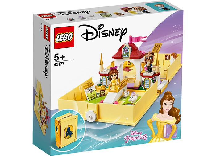 Aventuri cartea de povesti belle lego disney princess