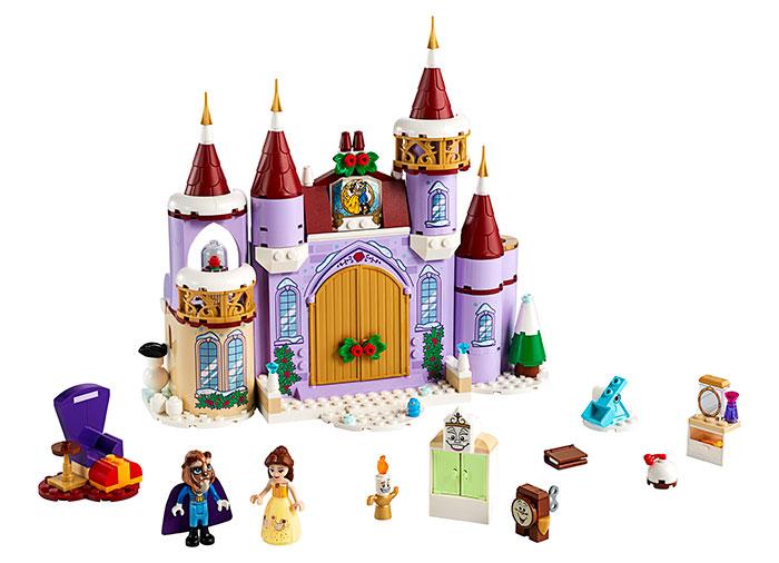 Sarbatoare la castelul bellei lego disney princess - 2