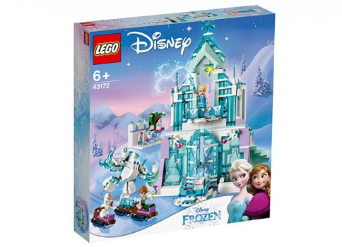 Elsa si palatul ei magic de gheata lego friends