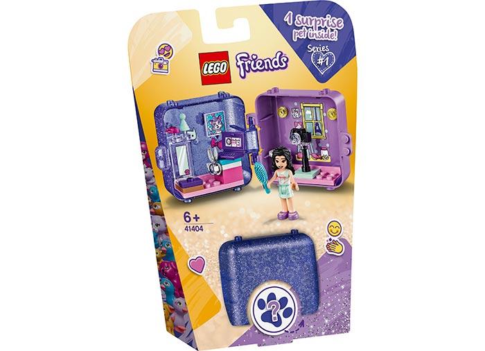 Cubul de joaca al emmei lego friends