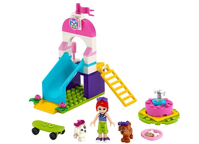 Locul de joaca al catelusilor lego friends - 1