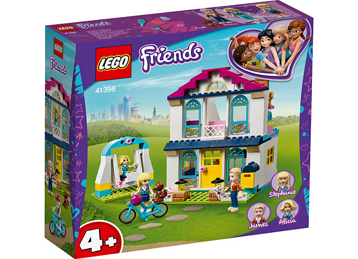 Casa lui stephanie lego friends