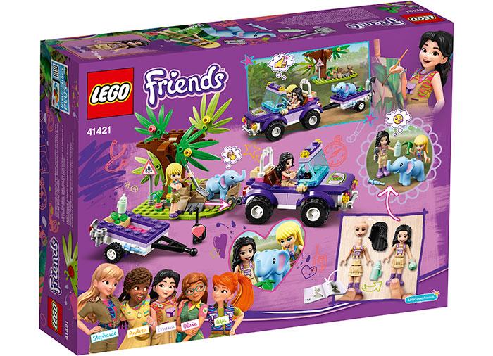 Salvarea puiului de elefant lego friends - 1